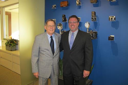 Gerald R. Gibbs, Founder [Ret.] and David L. Gibbs, Senior Partner