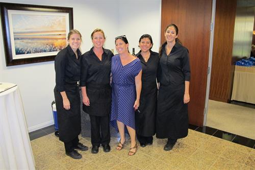 The Amazing Team from Carbonara's Restaurant