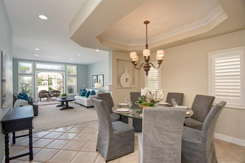 Huntington: this furnished town home is just a mile to the Huntington Beach Pier.