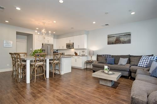 Voscana Place: furnished town home in Carlsbad.