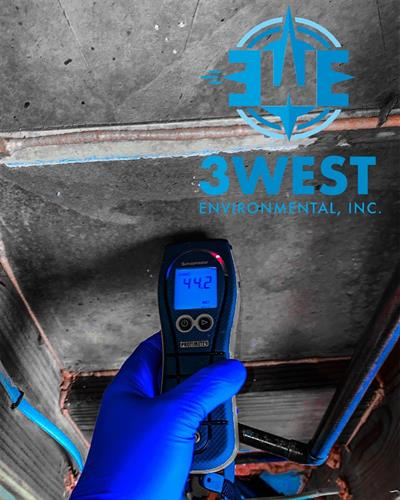 Elevated moisture readings during a mold clearance inspection