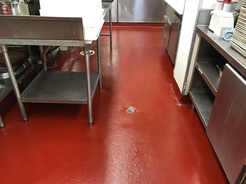 Riverside Mission Inn Kitchen Remodel and GSPEC Flooring