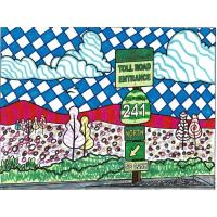 The Toll Roads Host Coloring Contest