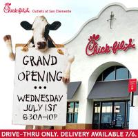 Chick-fil-A, Outlets at San Clemente Grand Opening