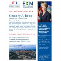 Orange County Business Council DON'T MISS THIS CANDID DISCUSSION WITH THE NATION'S LEADING EXPERT ON