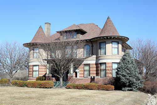 My office is located in the historic Crawford Mansion on Grand