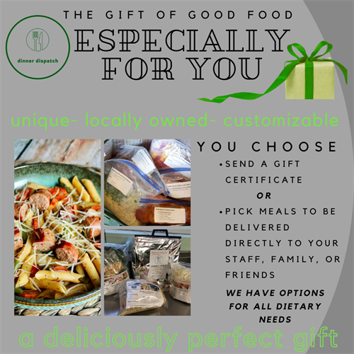 Our meals make great gifts for any occasion