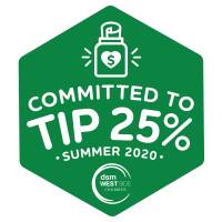 DSM West Side Chamber Launches #Tip25 Campaign
