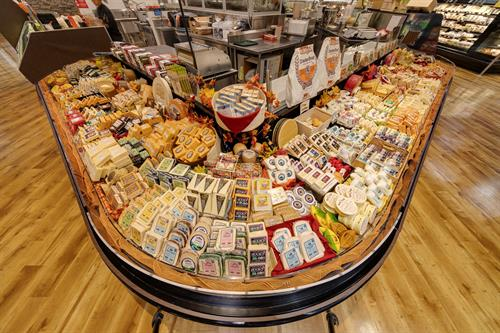 Over 600 Varieties of Cheese!
