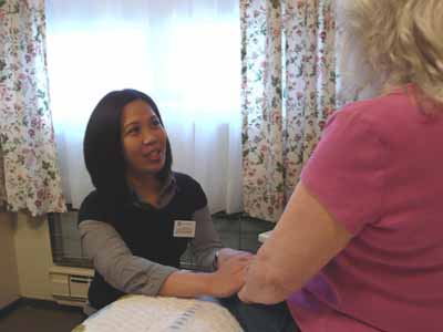 Hospice - comfort and care at home.