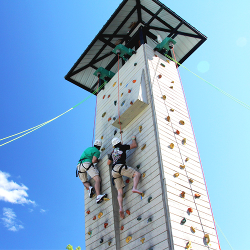 Vertical Edge Climbing Wall