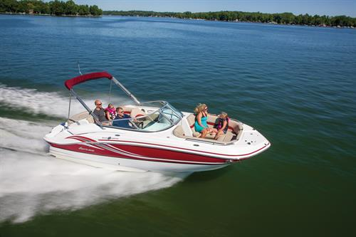 We sell Hurricane Deckboats.  The #1 selling deckboat in the Nation