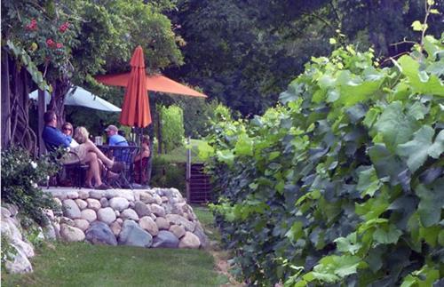 Post paddling winery stop