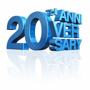 20 years work anniversary clip art
