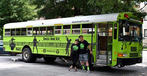 Hop On The #BigGreenBus!