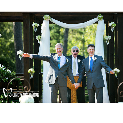 Barnsley Gardens Two Groom Wedding