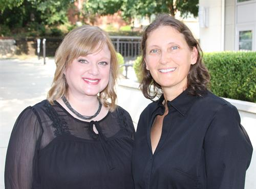 Dr. Megan Post, left, and Dr. Michelle Greissinger, right