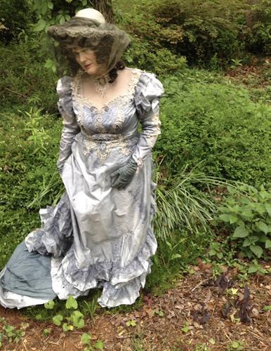 Edwardian Walking Suit for Phillip Hayes' Four Seasons Pre-Opening at Atlanta Botanical Garden