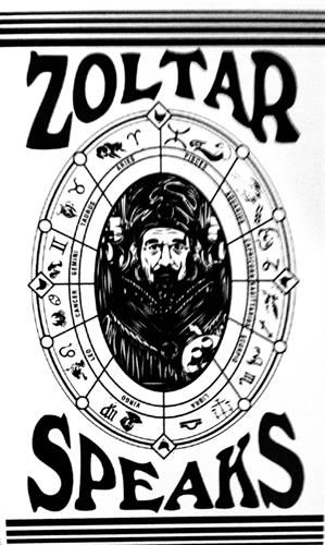use Zoltar Fortune Teller Booth to distribute your call to action, your product or service info, and more.