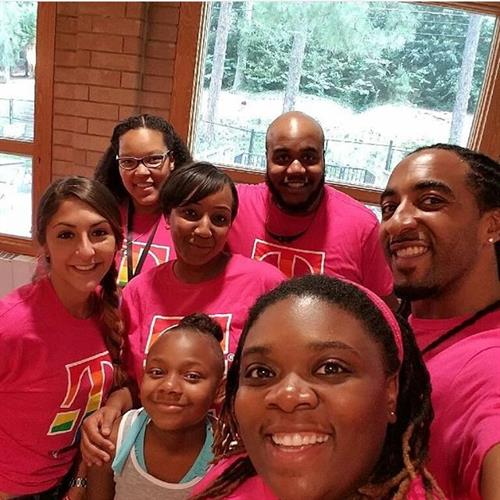 T-Mobile Atlanta participating at the kickoff for Pride School Atl