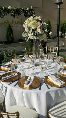 Roof Top Wedding at the Garden