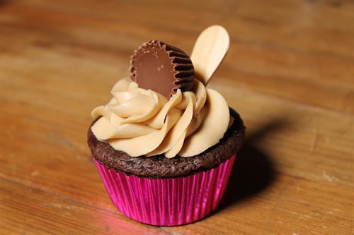 The Finger Lickin' Peanut Butter Cupcake