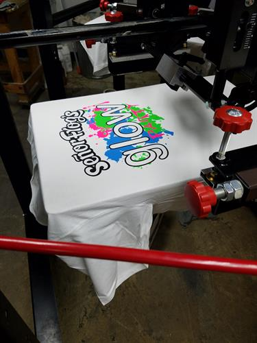 We print in house