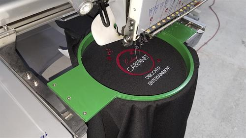 We do the ebroidery in house