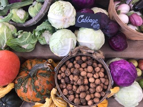Autumn at the Cap Hill farmers market