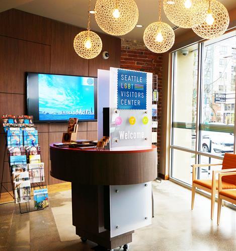 LGBT Visitor Center inside 1st Security Bank