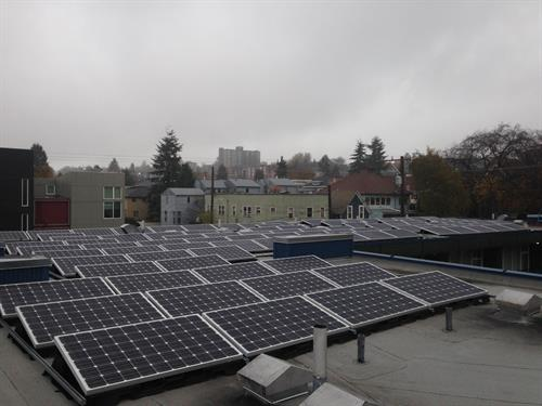 Community Solar project is LIVE in Capitol Hill!