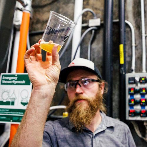 Nick Crandall, Redhook Brewlab Head Brewer