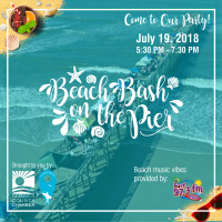Beach Bash On the Pier with the Flagler Chamber & Flagler Beach Area Council