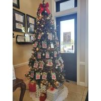 Christmas Come True Wish Tree at the Flagler Chamber
