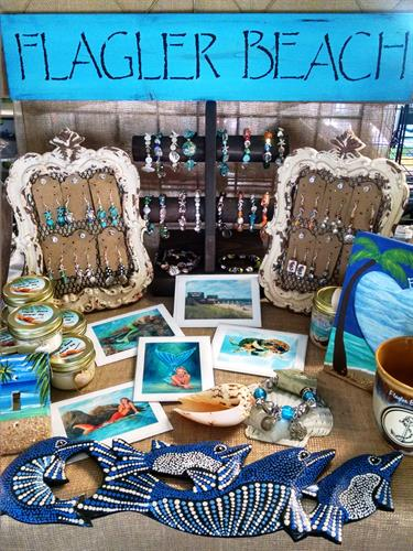 Flagler Beach Gift Shop in Florida carries locally made gifts, souvenirs and jewelry. 386-439-0053