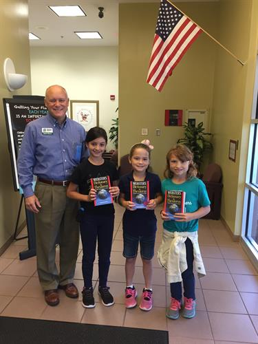 Rotary Club of Flagler County's dictionary distribution