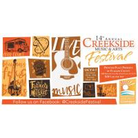 14th Annual Creekside Music & Arts Festival
