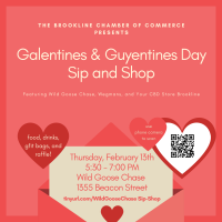Galentines & Guyentines Day Sip & Shop at Wild Goose Chase