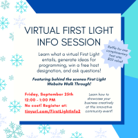 Virtual First Light Info Session II