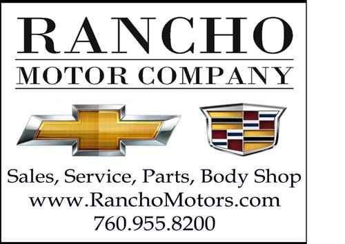 Visit our website at RanchoMotors.com