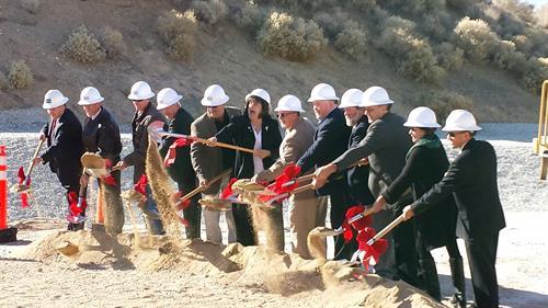 Yucca Loma Bridge Construction started Jan. 2014