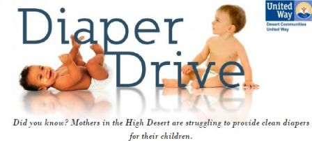 Diaper Drive April 1st thrru May 9th