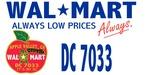 Wal-Mart DC #7033