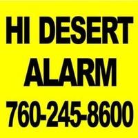 Hi Desert Alarm