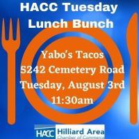 Chamber Lunch Bunch 8-3-21