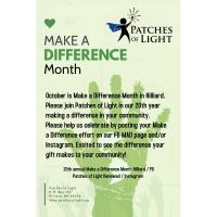 Make a Difference Month in Hilliard