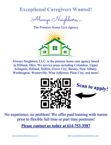 Caregivers Wanted!