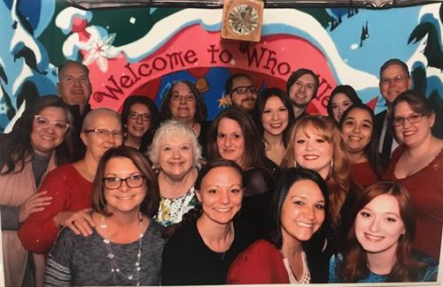 Hilliard Team Holiday Picture, 2019
