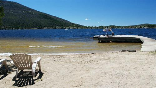 Use the Boat Slips for water fun!  Our small community of Cabins has its OWN private beach - a HUGE plus, all year long!