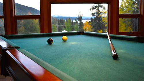 Play a game of pool or take a sauna in the Gathering Place